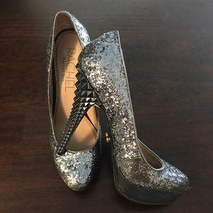 Rachel Roy Glitter Sparkle Heels